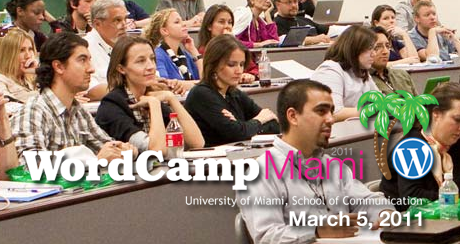WordCamp Miami in 2011