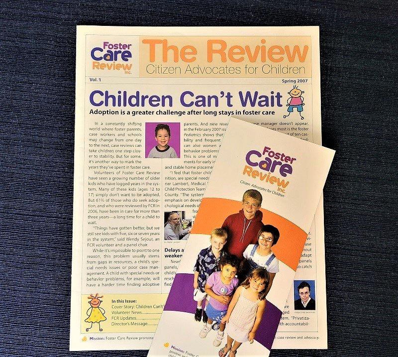 Nonprofit brochure copy